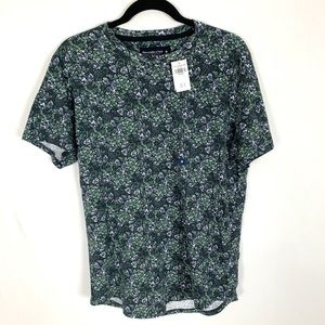 Abercrombie Floral Tee NWT